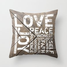 Against Such Things There Is No Law Throw Pillow