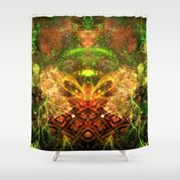 Extraterrestrial Palace 4 Shower Curtain