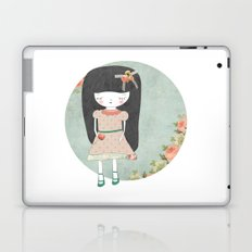 Sad girl Laptop & iPad Skin