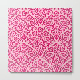 Damask Pattern 6 Metal Print