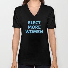 Elect More Women #6 Unisex V-Neck