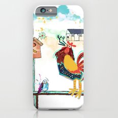 Rick the loud rooster iPhone 6s Slim Case