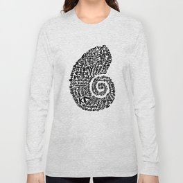 Nautilus Shell Long Sleeve T-shirt