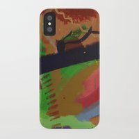 pain iPhone & iPod Cases featuring Pain by ErikMcManusInc.