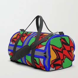 Abstract Arthur Duffle Bag