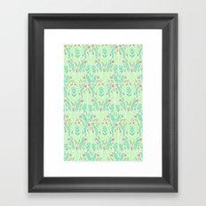 Tiny Flora Framed Art Print