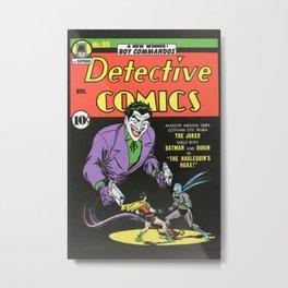 Comic Detective 69 Metal Print