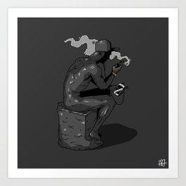 The Consumer Art Print