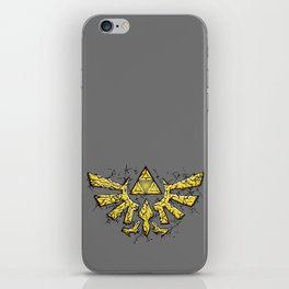Triforce yellow iPhone Skin