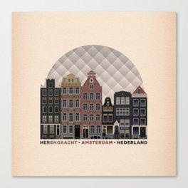 Herengracht Canvas Print