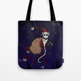 Midnight in Halloween Town Tote Bag