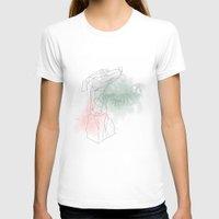 greyhound T-shirts featuring greyhound  by Ingrid Winkler