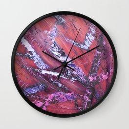 """""""Bushfire"""" Wall Clock"""