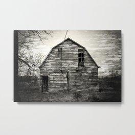 Canadian barn Metal Print