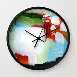 Brighter Days Wall Clock
