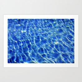 Water surface (2) Art Print