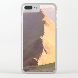 Striding Edge, Cumbria Clear iPhone Case