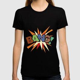 Comic Book Pop Art Sans BANG! T-shirt
