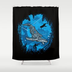 Abyss 2099 Shower Curtain
