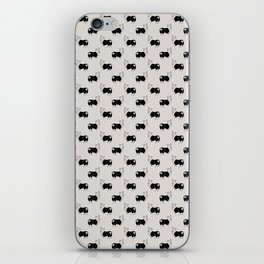 Corgi Butt Pattern iPhone Skin