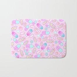 Pastel Pills Bath Mat