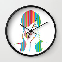 Barbra Streisand | Pop Art Wall Clock