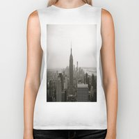 concrete Biker Tanks featuring Concrete Jungle by floridagurl