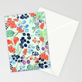 joyful berries Stationery Cards