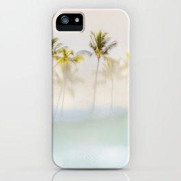 Peeking Hawaii Palms iPhone Case