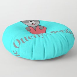 Otter-ly Adorable Floor Pillow