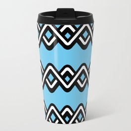 Digital weave Travel Mug