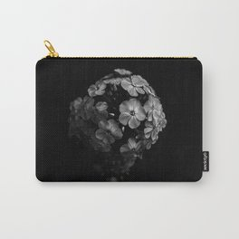 Planet of Flowers (Black and White) Carry-All Pouch