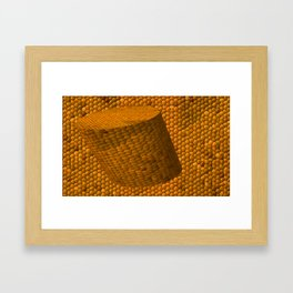 The corc mosaic Framed Art Print