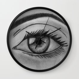 My Eyes are Watching You Wall Clock