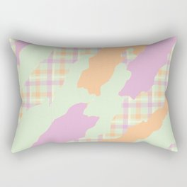 Tartan camo Rectangular Pillow