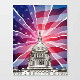 The World of Politics Canvas Print