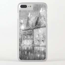 Three Mills Bow London Vintage Clear iPhone Case