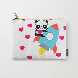 Rocketpanda in Love Carry-All Pouch