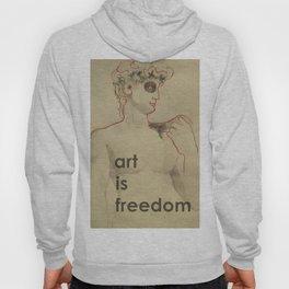 art is freedom Hoody