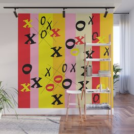X's and O's Wall Mural