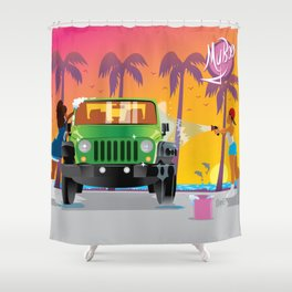 My Boo Scene Shower Curtain