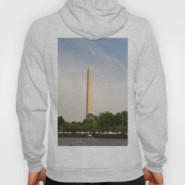 Paddling Up to the Washington Monument Hoody