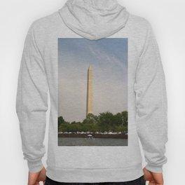 Paddling Up to the Washington Monument Hoody