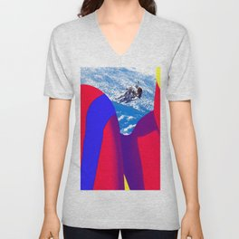 Space Woman Unisex V-Neck