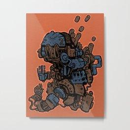 Fistacuffs! Metal Print
