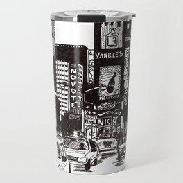 New York New York Travel Mug