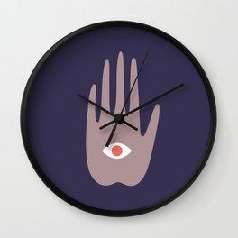 hamsa IV Wall Clock