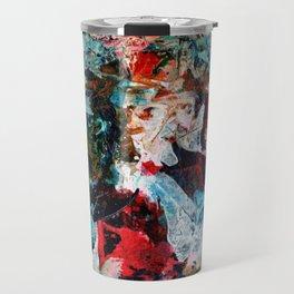 Rock Star Abstract Travel Mug