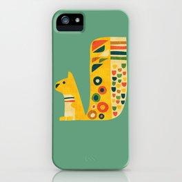 Century Squirrel iPhone Case