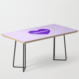 Love Snacks in Lilac Coffee Table